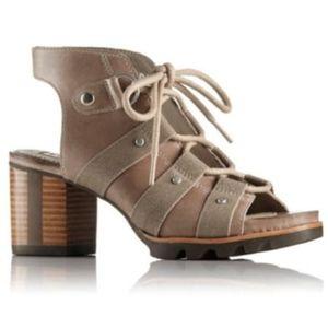 Sorel Addington Sandals Pebble-Silver Sage